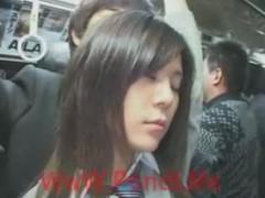 in autobus giapponese